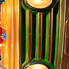 Luna park car bumper lights (H) by shelfpublisher