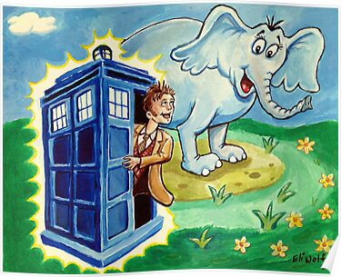 Horton hears a Dr. Who by eliwolff