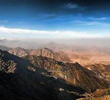 Al Hada Road in Taif by Graham Taylor