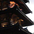 Dusk Pagoda by zamix