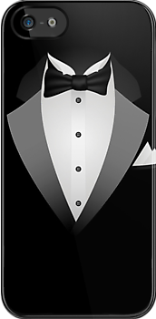 Tuxedo Suit iPad Case  Prints /  iPhone 5 Case / iPhone 4 Case  / Samsung Galaxy Cases  by CroDesign