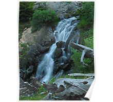 Middle Stout Creek Falls Poster