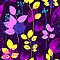 Foliage Lilac &amp; Lemon [iPhone / iPod Case and Print] by Damienne Bingham