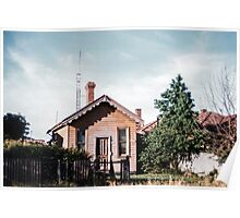Old home Sydney Road Merlynstone 1959 12020004  Poster