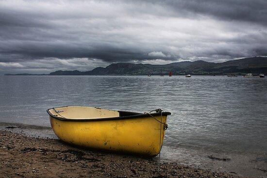 Beaumaris Boat by David W Bailey