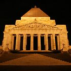 Melbourne Shrine 2am by TJSPictures
