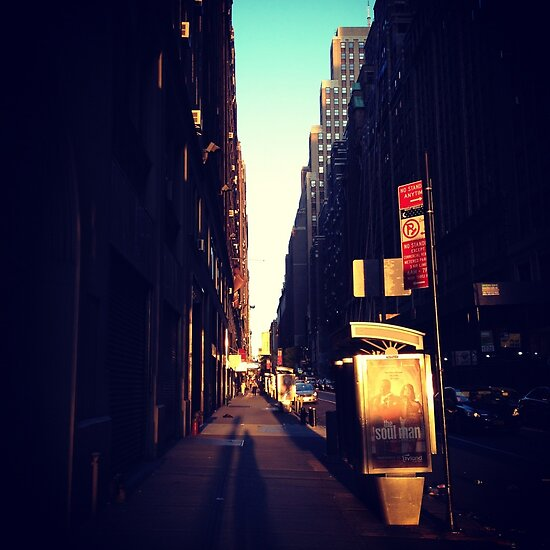 Manhattan Sunset (Manhattanhenge) by SylviaS