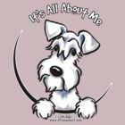 White Schnauzer :: It&#x27;s All About Me by offleashart