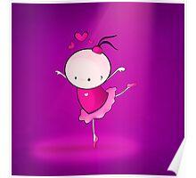 lovely Ballet dance 1 Poster