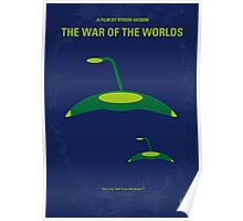 No118 My WAR OF THE WORLDS minimal movie poster Poster
