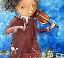 Fiddler by Monica Blatton