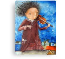 Fiddler Canvas Print