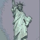 Lady Liberty by Mickey Hatt