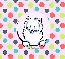 Samoyed Seeing Spots by offleashart