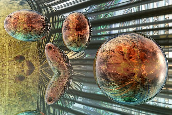 Evolution of Spheres by Benedikt Amrhein