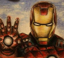 Iron Man - ATC/ACEO by robdolbs