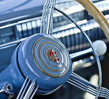 1940 Cadillac 60 Special Sedan Steering Wheel by Jill Reger