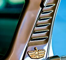 1955 Dodge Custom Royal Lancer Hardtop Emblem by Jill Reger