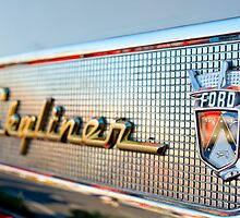 1957 Ford Skyliner Retractable Hardtop Emblem by Jill Reger