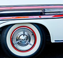 1957 Pontiac Bonneville Convertible Wheel by Jill Reger