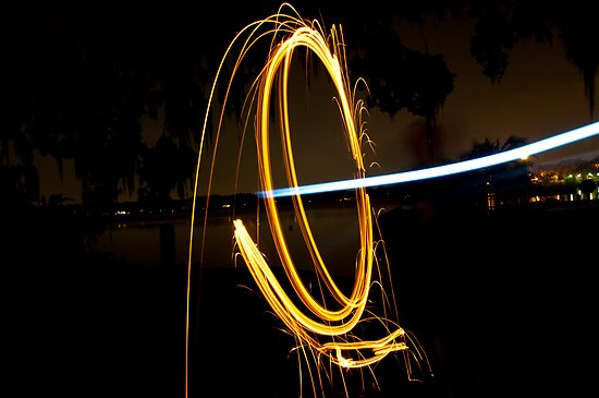 Steel Wool at water 4 by Douglas Gaston IV