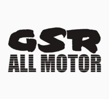GSR ALL MOTOR by Ten Ton Tees