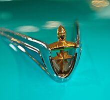1956 Lincoln Premier Convertible Hood Ornament by Jill Reger