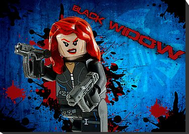 Black Widow by plopezjr