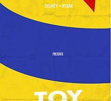 Toy Story Minimalist Movie Poster by Joshua Steele