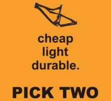Bike Parts Dually MTB (for light shirts) by Nick  Taylor