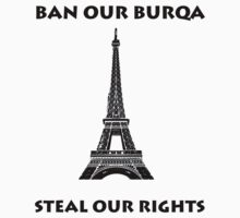 French Burqa Ban by kvaromind