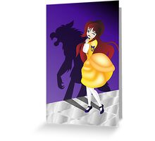 Twisted Tales - Beauty and the Beast Greeting Card