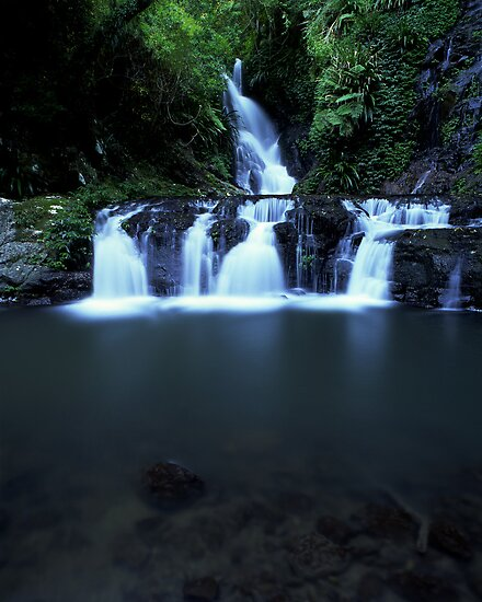 """Elabana Falls"" ∞ Lamington National Park, QLD - Australia by Jason Asher"