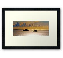 The Skellig Islands Framed Print