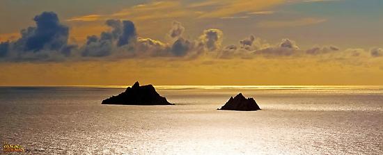 The Skellig Islands by Andrés Hurtado