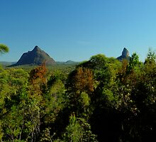 glasshouse mountains 3 by warren dacey