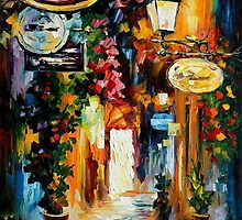 VIBRATIONS OF THE TIME - OIL PAINTING BY LEONID AFREMOV by Leonid  Afremov