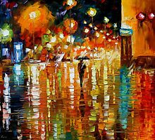 BEAUTY OF THE RAIN - OIL PAINTING BY LEONID AFREMOV by Leonid  Afremov