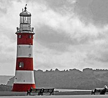 Plymouth Hoe by Beverley Barrett