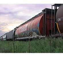 Graffiti Train Photographic Print