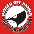 Pissed OFF Panda Eye Seal of Disapproval by Frankenstylin