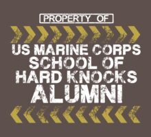 School of Hard Knocks - Marine Corps - Dark Colors Kids Clothes