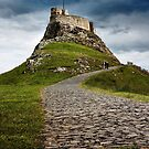 Lindisfarne Castle by Harry Purves