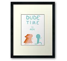 "Regular Show ""Dude Time"" Framed Print"