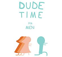 "Regular Show ""Dude Time"" Photographic Print"