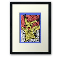 Pokémontage Framed Print