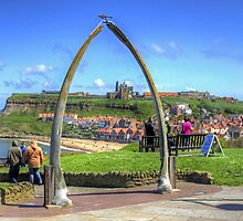 Through the Whale Bone Arch by Tom Gomez
