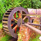 old mill wheel by tomstroud