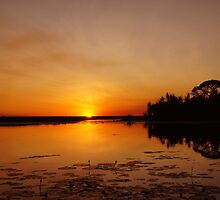 The magic of Arnhem Land - sunset over Cooper Creek by georgieboy98