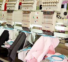 Embroidery Machines by Guatemwc